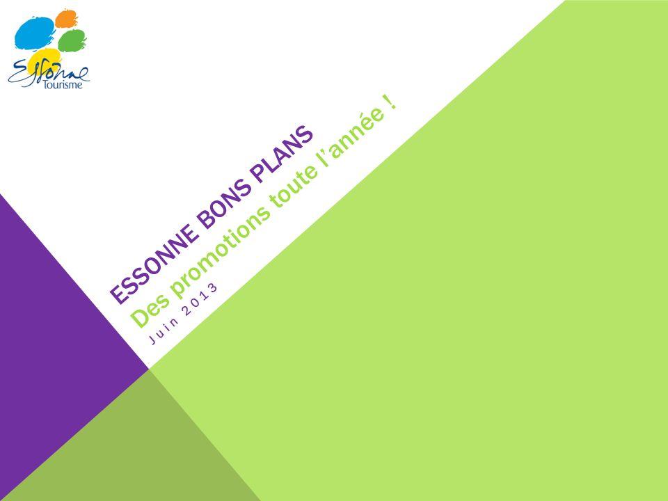 ESSONNE BONS PLANS Des promotions toute lannée ! Juin 2013