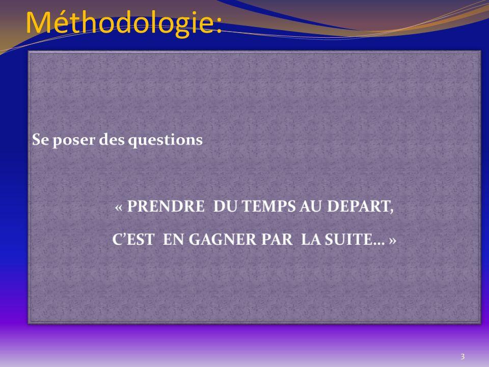 Méthodologie: 3