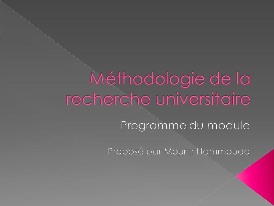Programme de la première année Programme de la deuxième année Programme de la troisième année