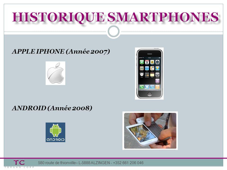 Eclatement du marché : Premier trimestre 2012, 118 modèles de smartphones (69 en 2011) Arrivée des constructeurs chinois Course vers le haut de gamme : Smartphones : écrans de + de 4.5 pouces .