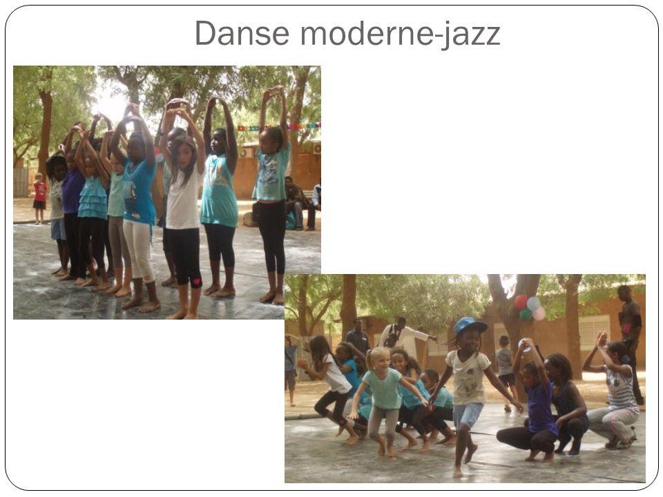 Danse moderne-jazz