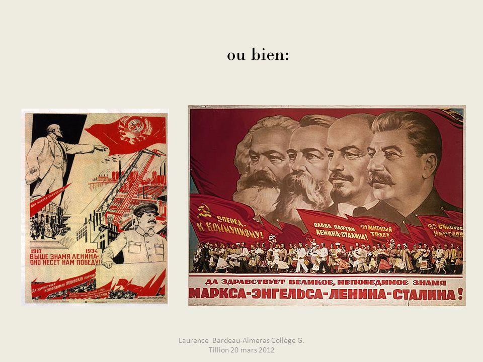 ou bien: Laurence Bardeau-Almeras Collège G. Tillion 20 mars 2012