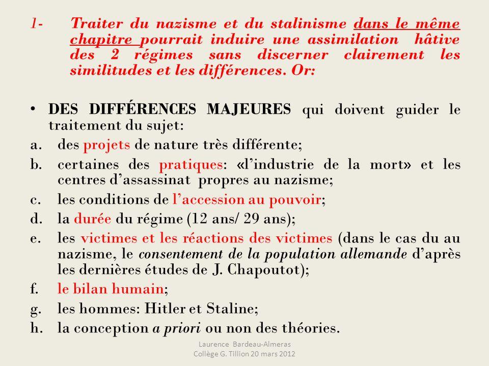 Et aboutir à… …létude dun document qui aborde de nombreux thèmes : une affiche de propagande de 1932… Laurence Bardeau-Almeras Collège G.