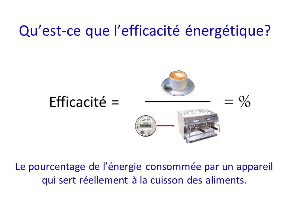 Quest-ce que lefficacité énergétique.