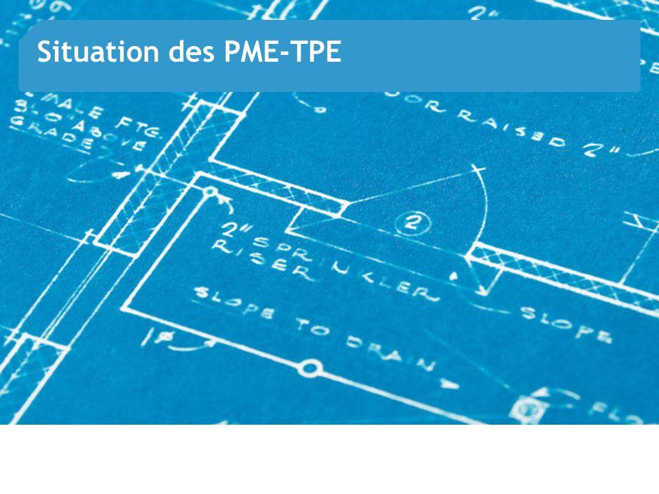 Situation des PME-TPE