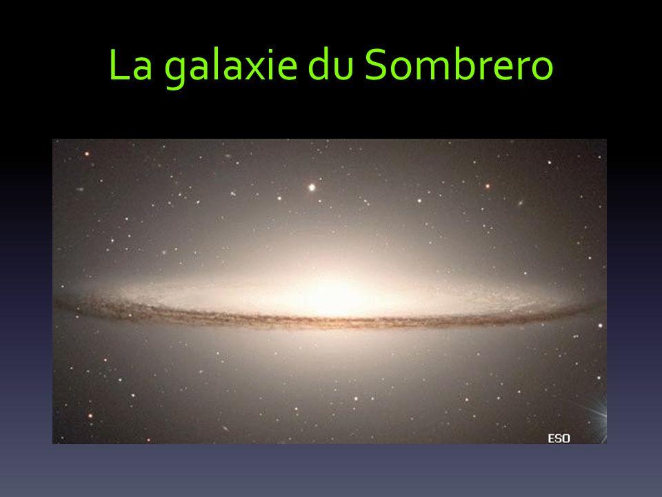 La galaxie du Sombrero