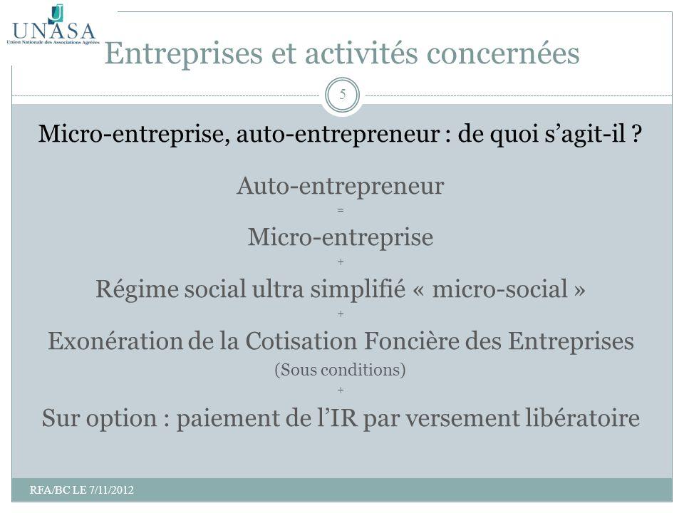 Micro-entreprise, auto-entrepreneur : de quoi sagit-il ? Auto-entrepreneur = Micro-entreprise + Régime social ultra simplifié « micro-social » + Exoné