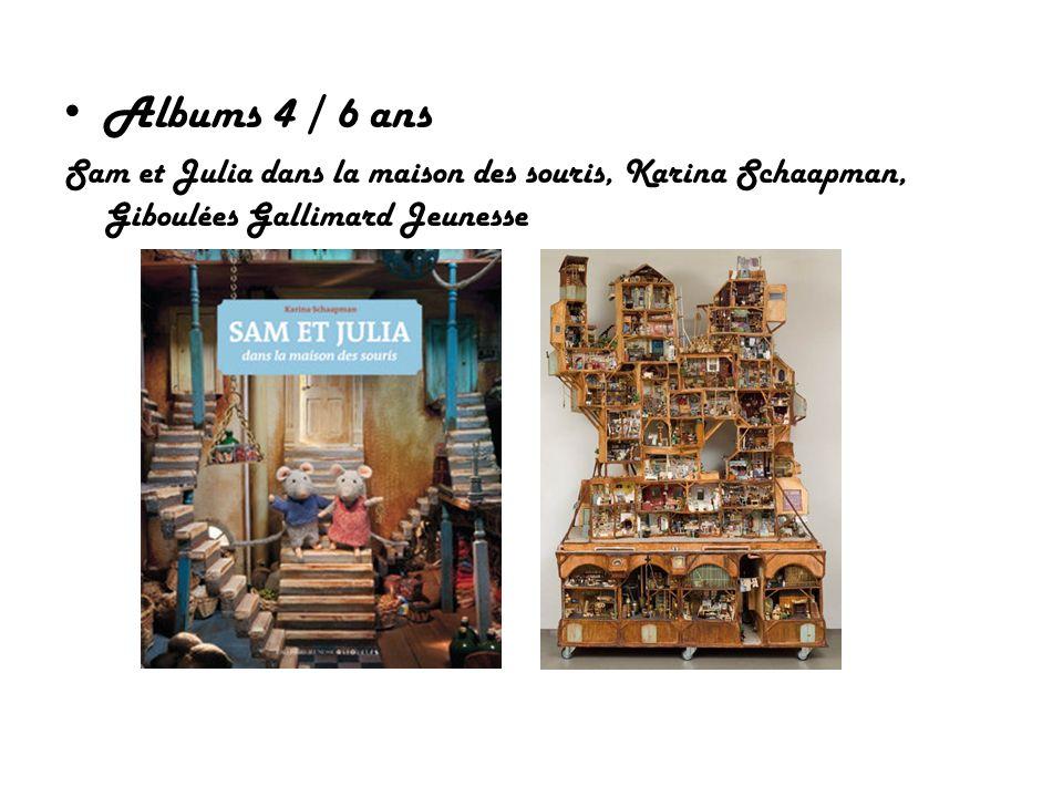Albums 4 / 6 ans Sam et Julia dans la maison des souris, Karina Schaapman, Giboulées Gallimard Jeunesse