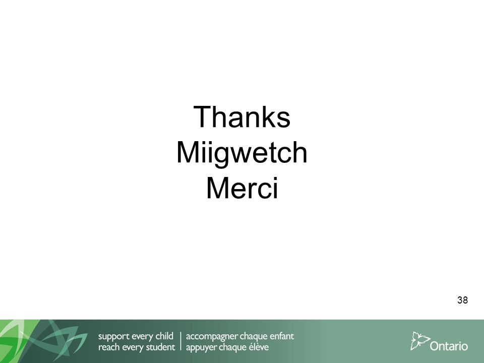 Thanks Miigwetch Merci 38