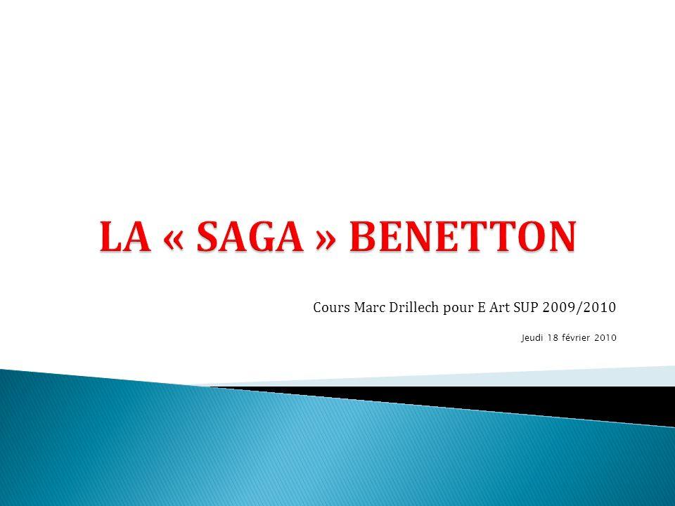 La marque Benetton a su construire un niveau de notoriété, une force dimage assez exceptionnelle.