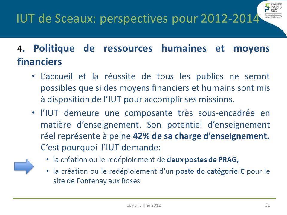 4. Politique de ressources humaines et moyens financiers Laccueil et la réussite de tous les publics ne seront possibles que si des moyens financiers
