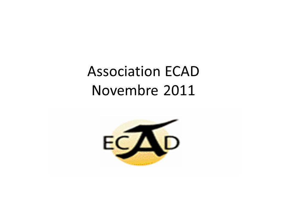 Association ECAD Novembre 2011
