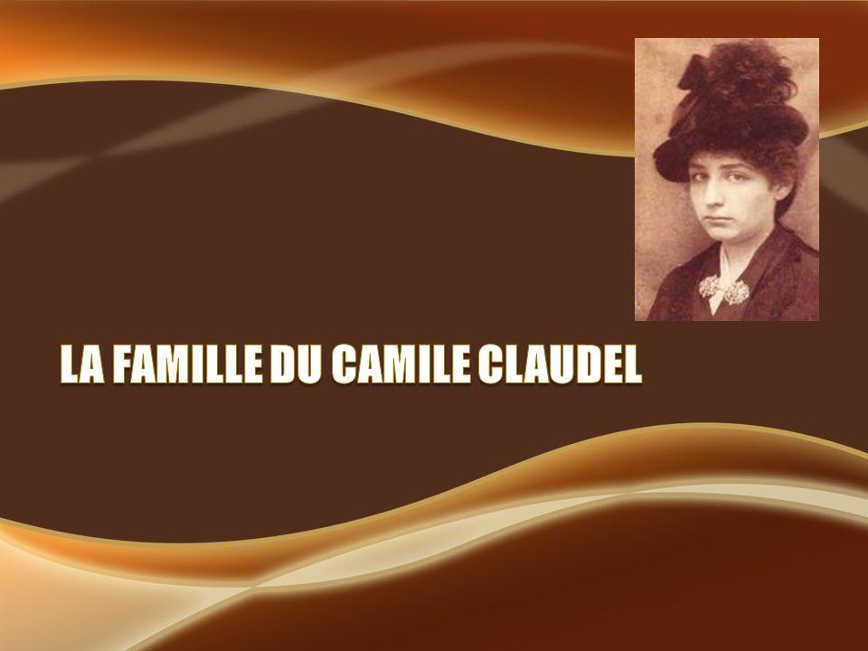 -Le père de Camille -Était née dans lannée 1826 -Et mort durant lannée 1913 -Fils de paysan devenu fonctionnaire -La mère du Camille -Née dans lannée 1840 -Mort dans lannée -Fille dun médecin champenois