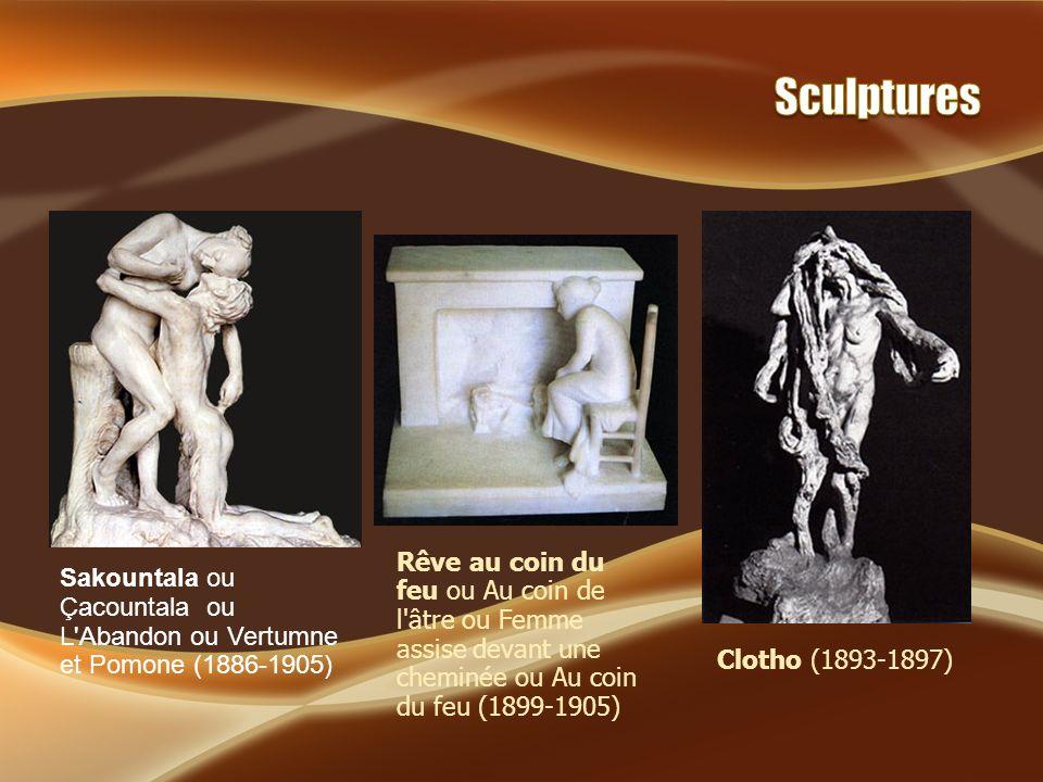 La Vague ou Les Baigneuses (1897-1903) La Vieille Hélène ou Buste de Vieille femme ou Vieille femme (1882-1905) L Hamadryade ou Jeune Fille aux nénuphars (1895-1897)