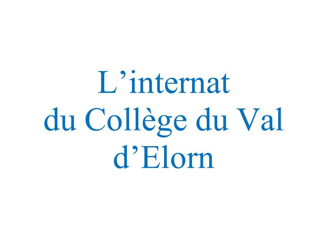 Linternat du Collège du Val dElorn
