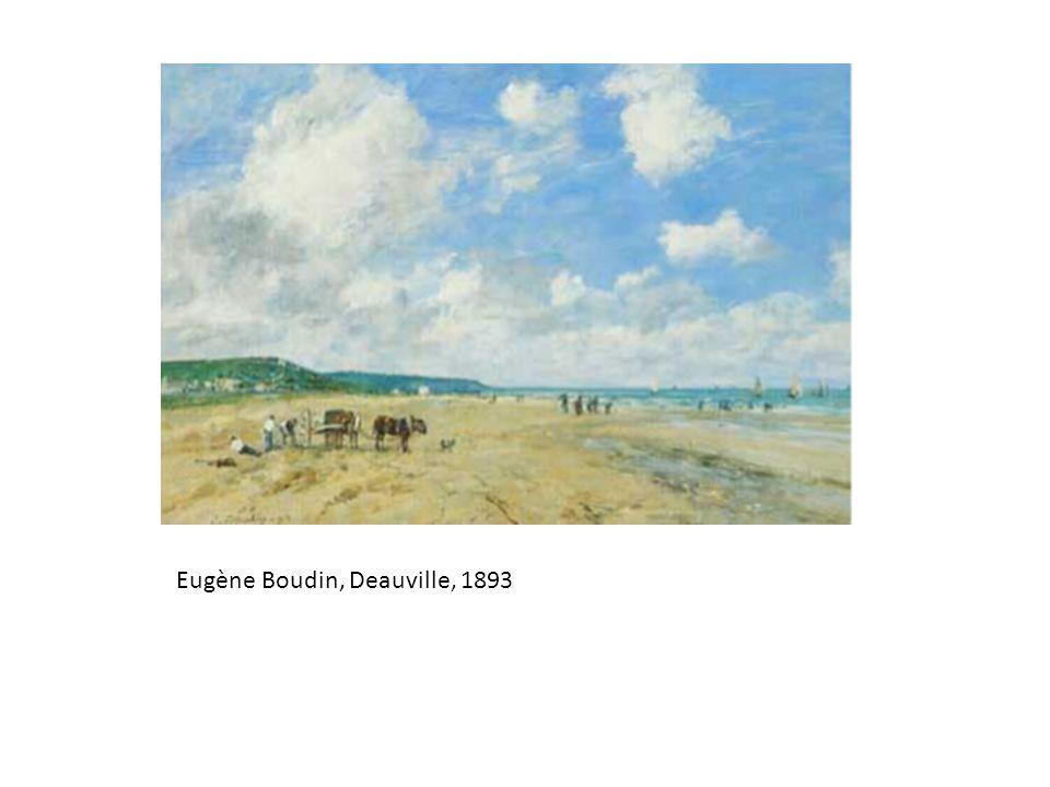 Eugène Boudin, Deauville, 1893