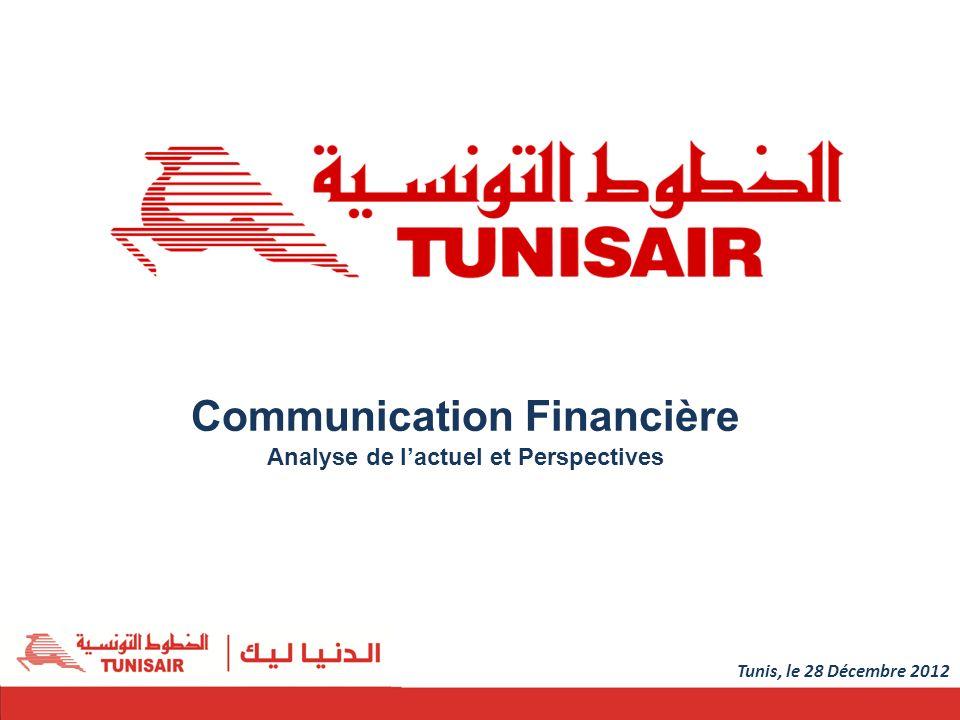 Communication Financière Analyse de lactuel et Perspectives 1 Tunis, le 28 Décembre 2012