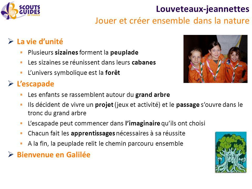 Louveteaux-jeannettes De notre mieux .
