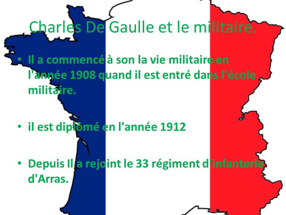 Général De Gaulle Quiz Comment sappelle le livre que Général De Gaulle a écrit? – lArmée de Métier