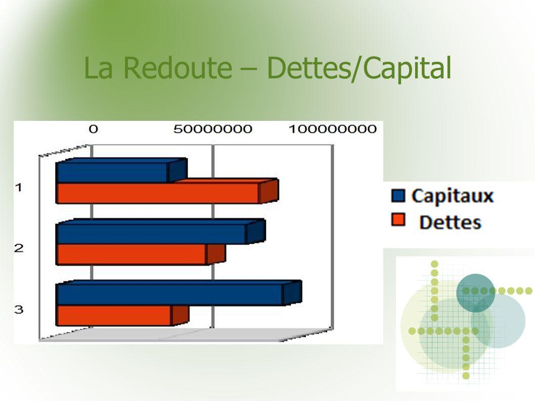 La Redoute – Dettes/Capital