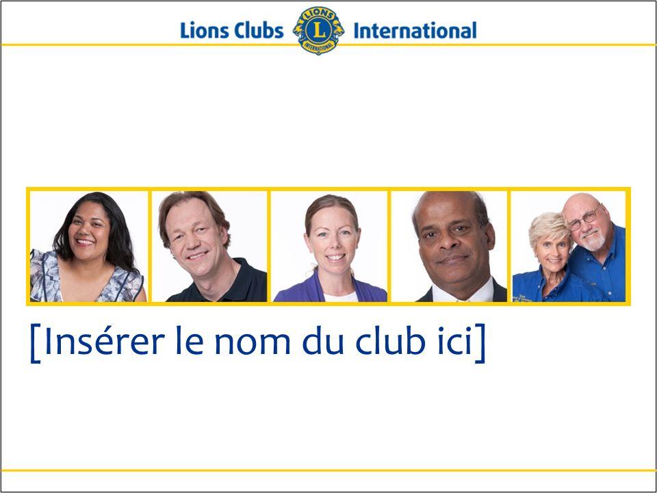 7Lions Clubs InternationalOrientation des nouveaux membres Histoire Année de remise de charte : Nombre de membres fondateurs : Autres clubs parrainés par le nôtre : Récompenses ou accomplissements importants :