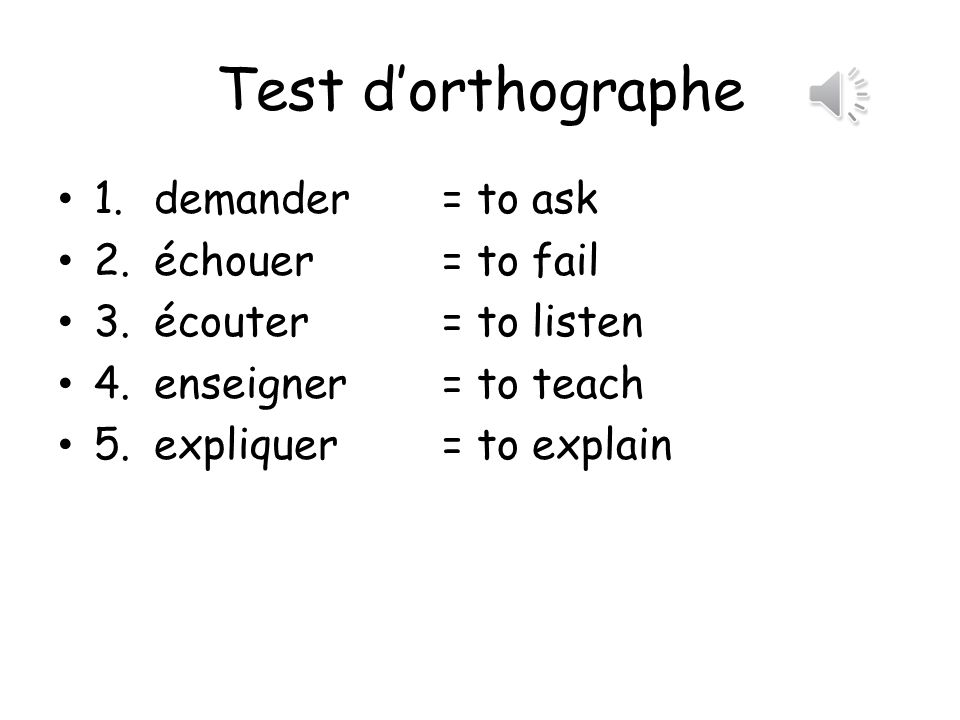 More vocab.