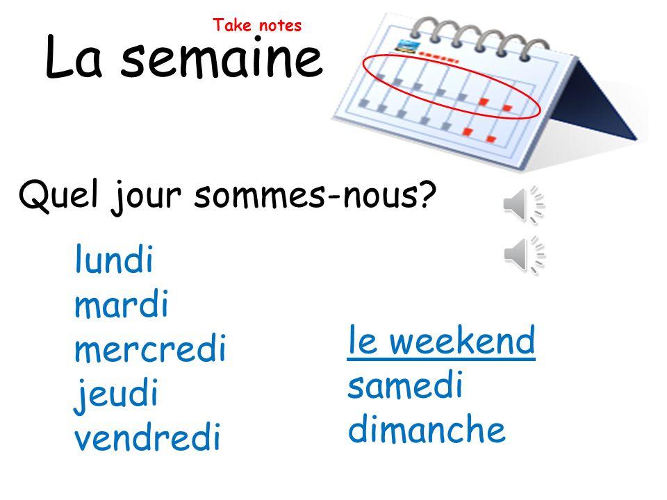Test dorthographe 16.de____ = tomorrow 17.de____ matin = tomorrow morning 18.de____ après-midi = tomorrow afternoon 19.de____ soir = tomorrow evening 20.un ____ = one day or a day