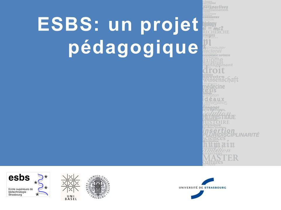 ESBS: un projet pédagogique