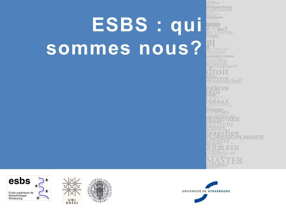 ESBS : qui sommes nous?