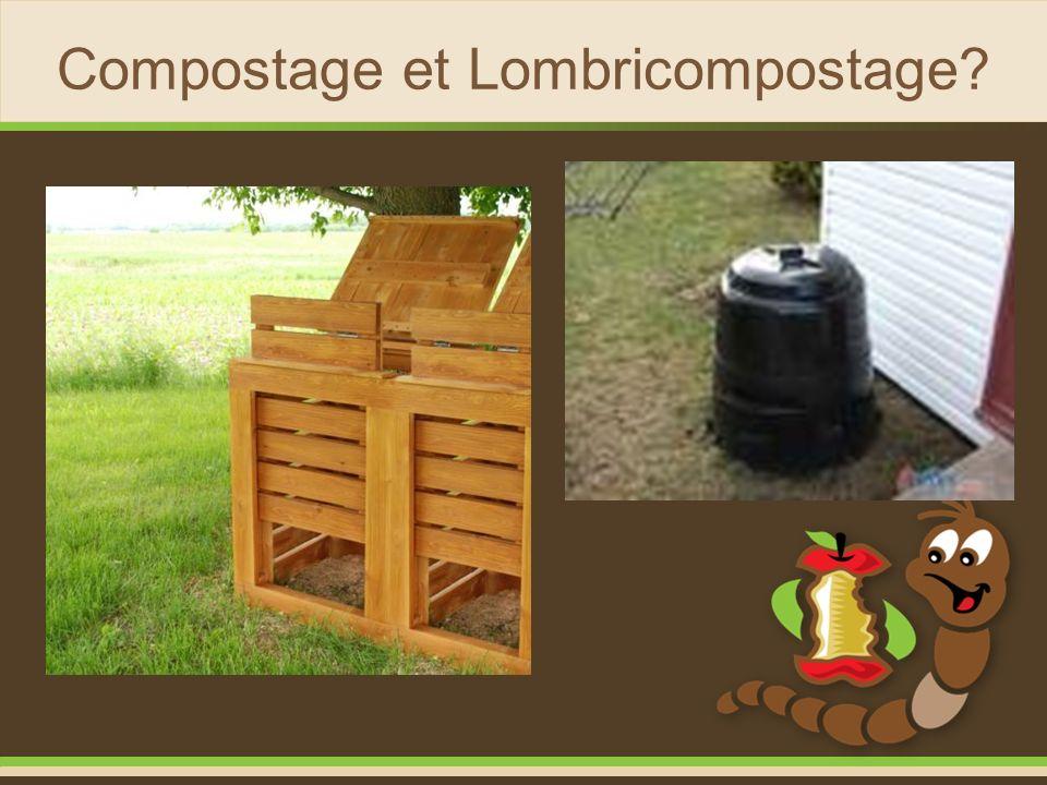 Compostage et Lombricompostage?