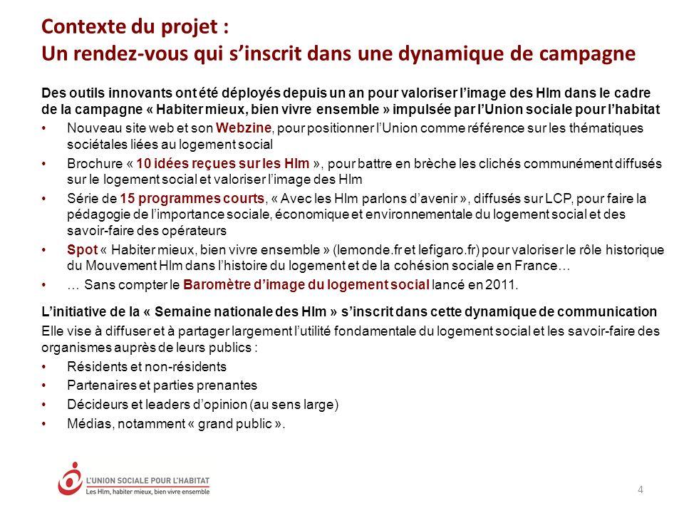 Contexte du projet : Un rendez-vous qui sinscrit dans une dynamique de campagne Des outils innovants ont été déployés depuis un an pour valoriser lima