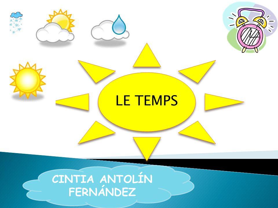 LE TEMPS CINTIA ANTOLÍN FERNÁNDEZ