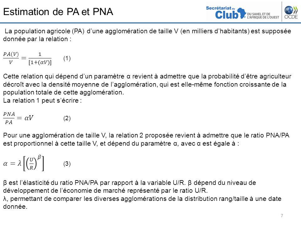Estimation de PA et PNA 7