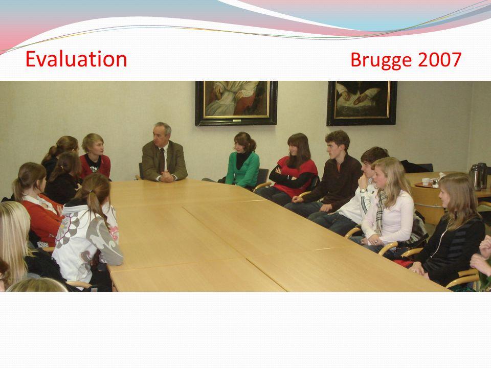Evaluation Brugge 2007