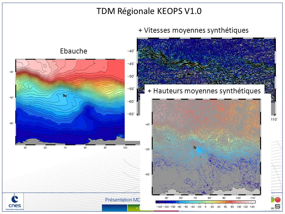 Présentation MDT – 13 mars 2012 - 53 - Ebauche + Vitesses moyennes synthétiques TDM Régionale KEOPS V1.0 + Hauteurs moyennes synthétiques
