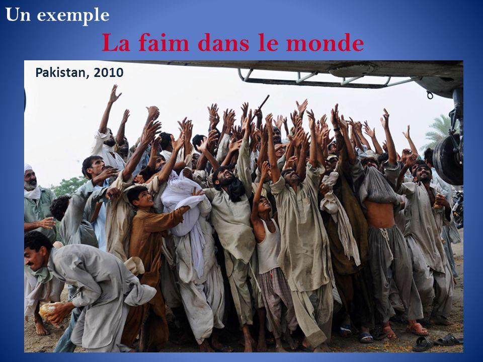 Un exemple La faim dans le monde Pakistan, 2010