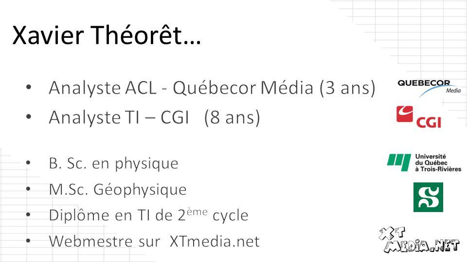 Xavier Théorêt…