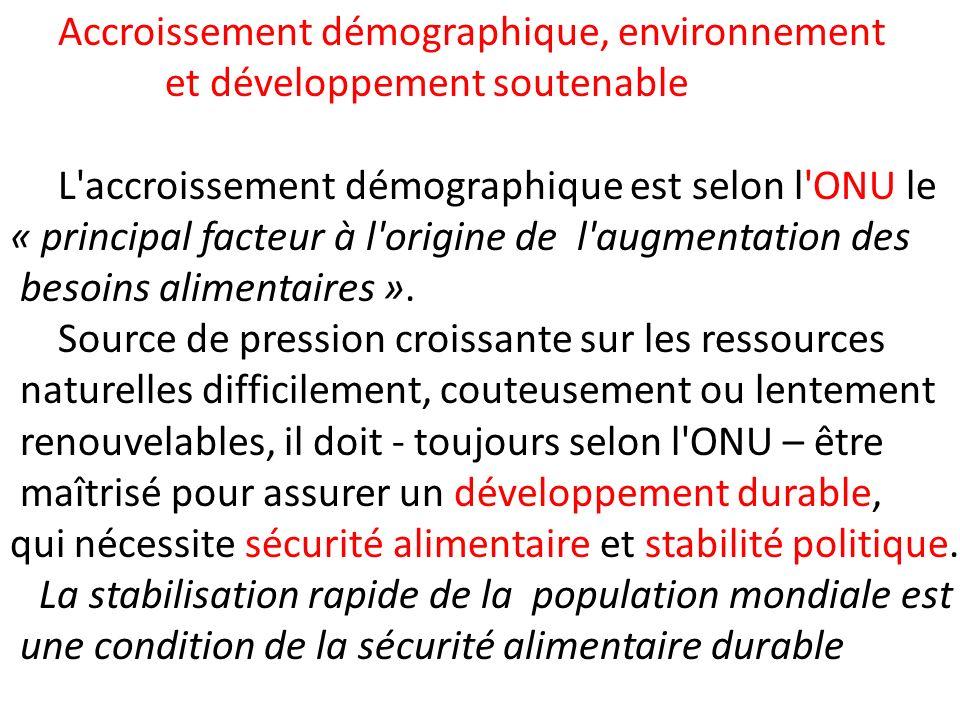 CONCLUSION Ainsi la Tunisie se classe parmi les pays dont la transition démographique est bien avancée.