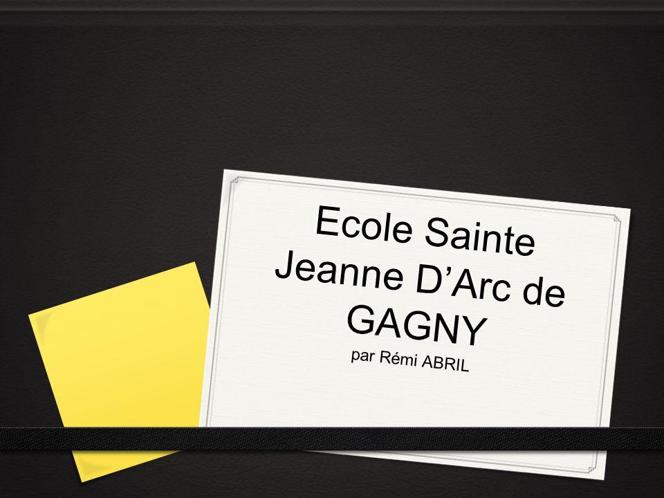Ecole Sainte Jeanne DArc de GAGNY par Rémi ABRIL