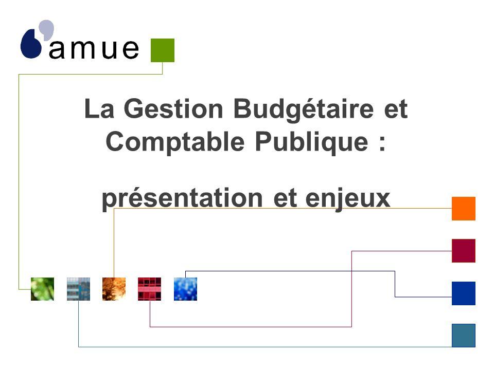 Présentation de la réforme GBCP - Amue © 2013 La Gestion Budgétaire et Comptable Publique : présentation et enjeux 1.GBCP : présentation 2.GBCP : les grands principes 3.Modernisation et organisation 4.GBCP et pilotage 5.Annexes 2