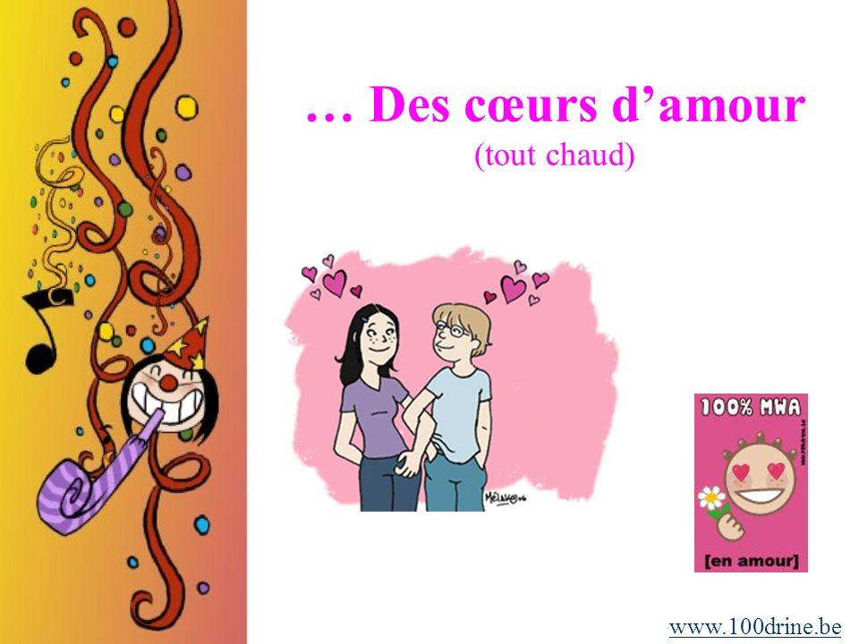 … Des résolutions super folles (pour pimenter la vie) www.100drine.be