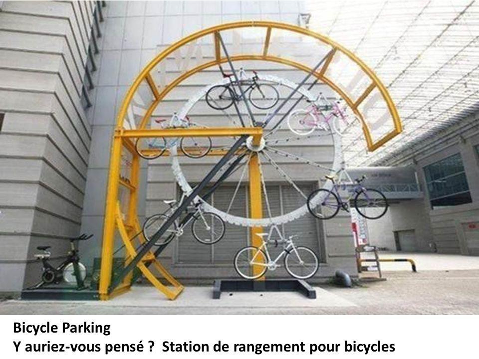 Bicycle Parking Y auriez-vous pensé ? Station de rangement pour bicycles