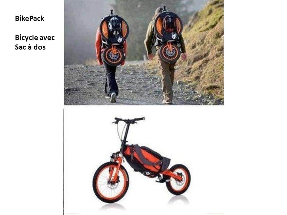 BikePack Bicycle avec Sac à dos