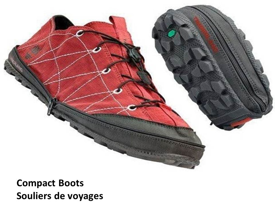 Compact Boots Souliers de voyages