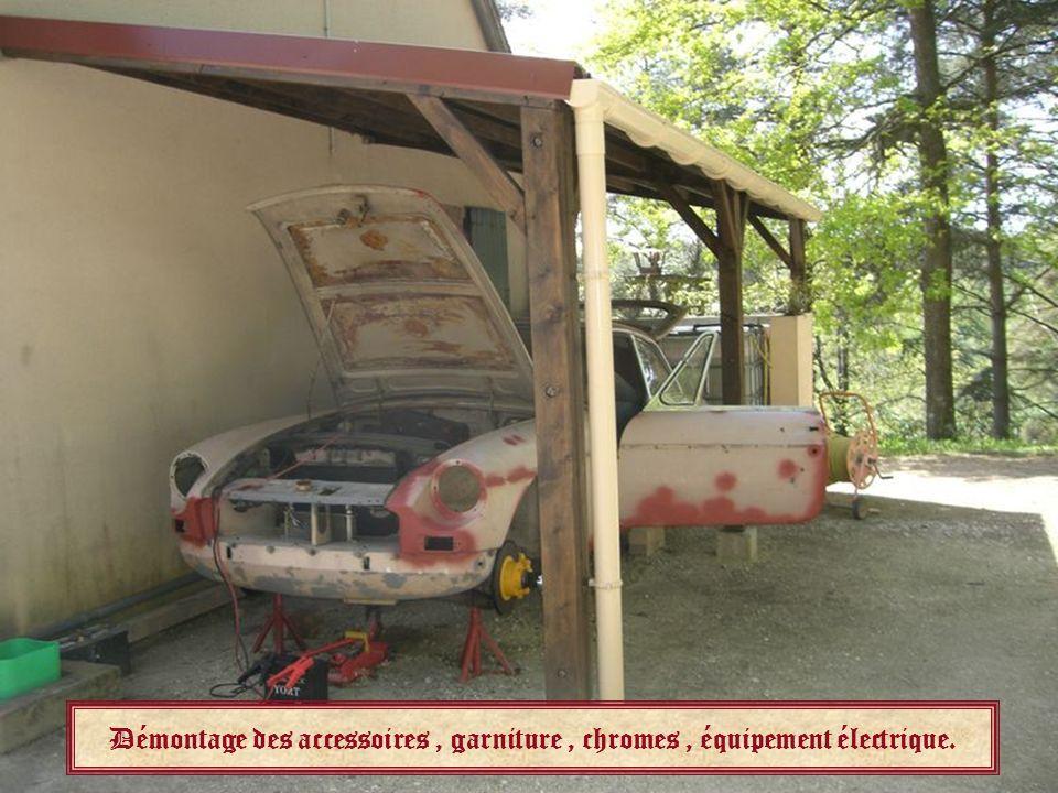 RESTAURATION dune MGB GT Année 1966