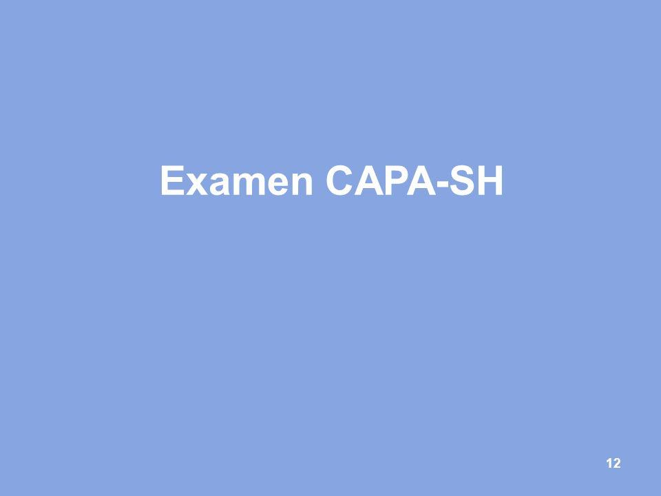 12 Examen CAPA-SH