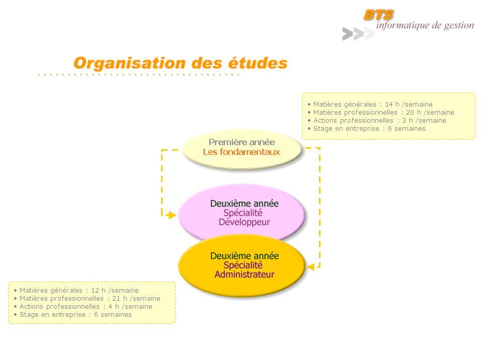 Le lycée met à la disposition du BTS Informatique de gestion des moyens conséquents : Deux laboratoires spécialisés dont les équipements sont renouvelés fréquemment.