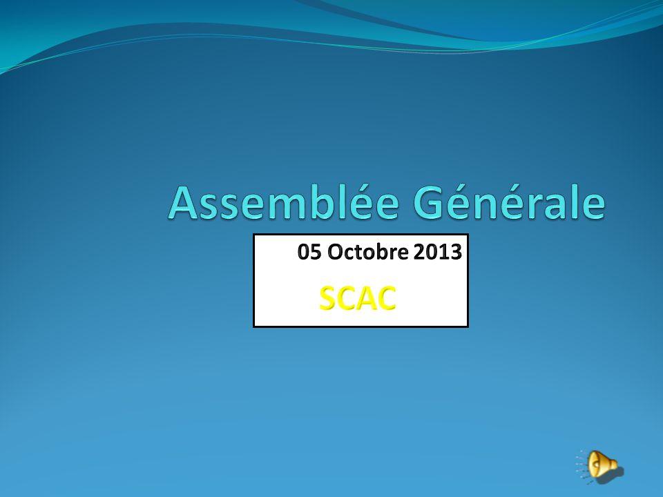 ASSEMBLEE GENERALE DU SAINT-CERE ATHLETISME CLUB 05 octobre 2013 ________ - Rapport Moral - Rapport Sportif - Rapport Financier - Election du comité directeur