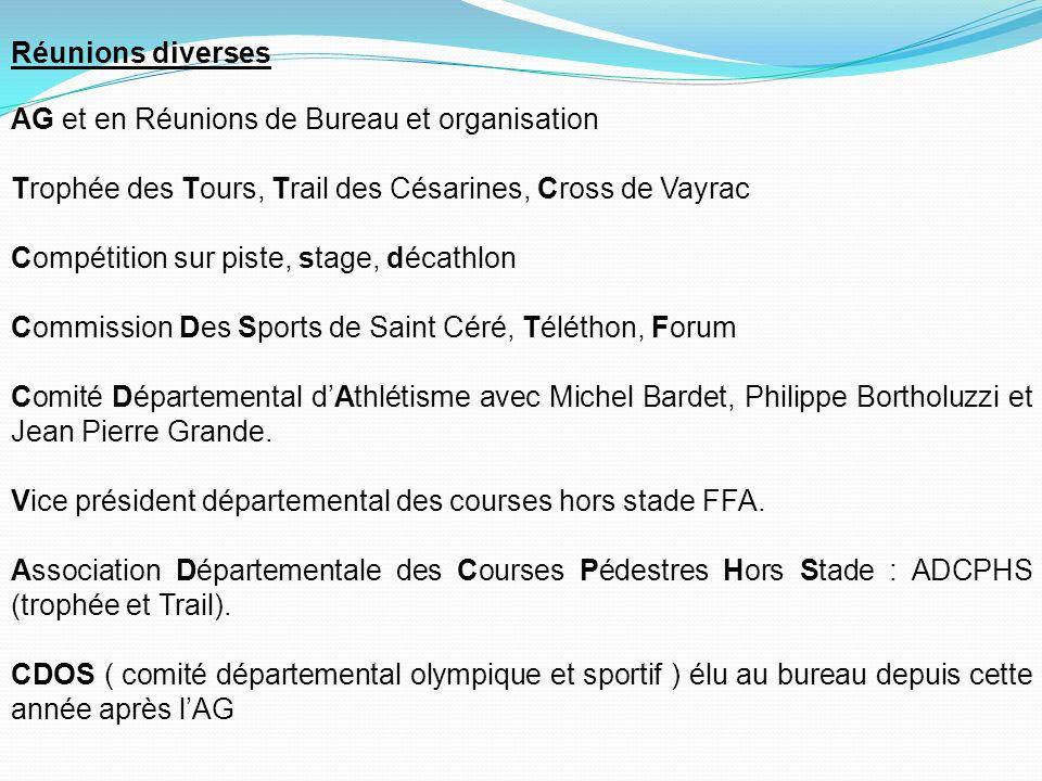Nos actions : Cette année encore le SCAC sest exporté dans toute la France avec la participation de nos athlètes dans diverses épreuves comme les cross, 10kms, semi-marathon, marathon, trail, piste et meetings.