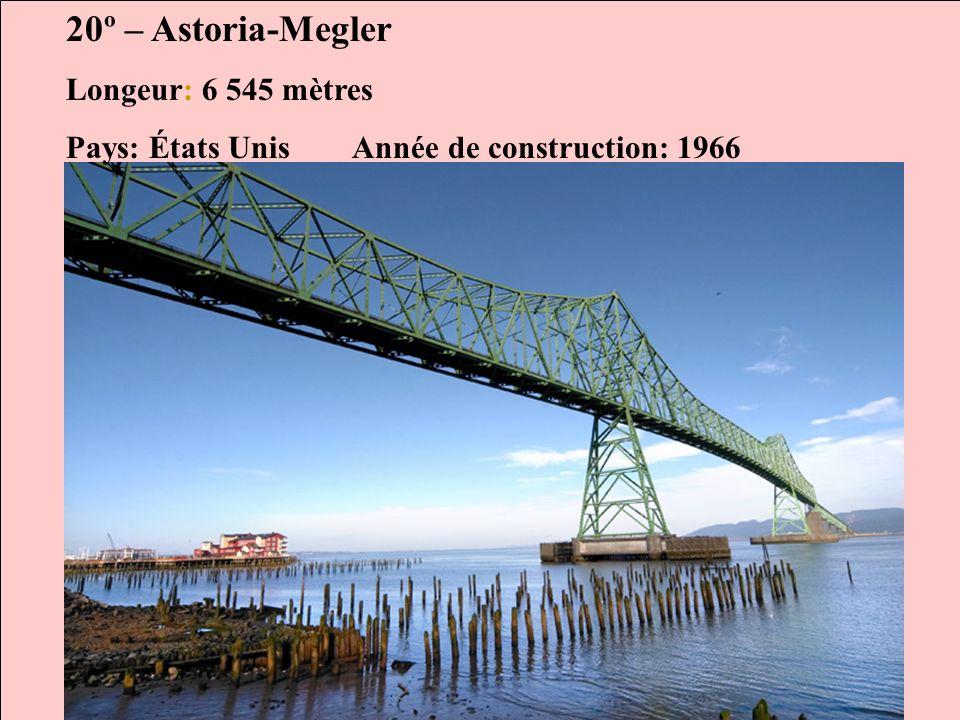 Les Ponts les plus longs au monde